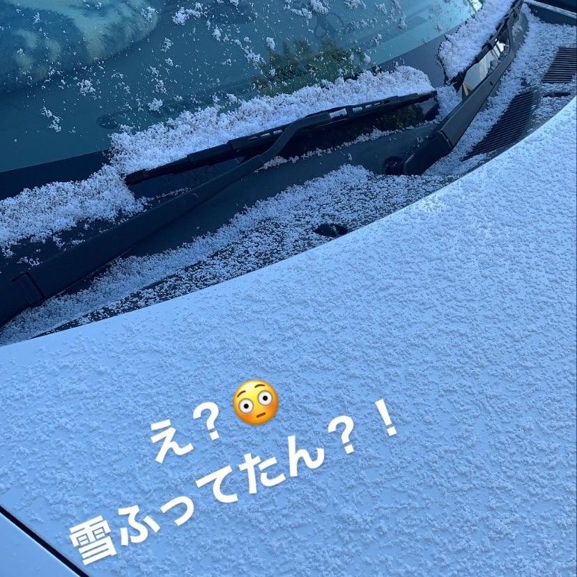 2月6日(木)初雪