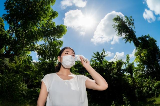 感染症対策 マスク生活