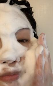 洗顔 泡1