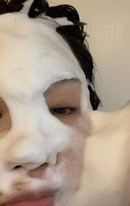 洗顔 泡3
