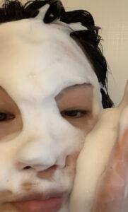 洗顔 泡2